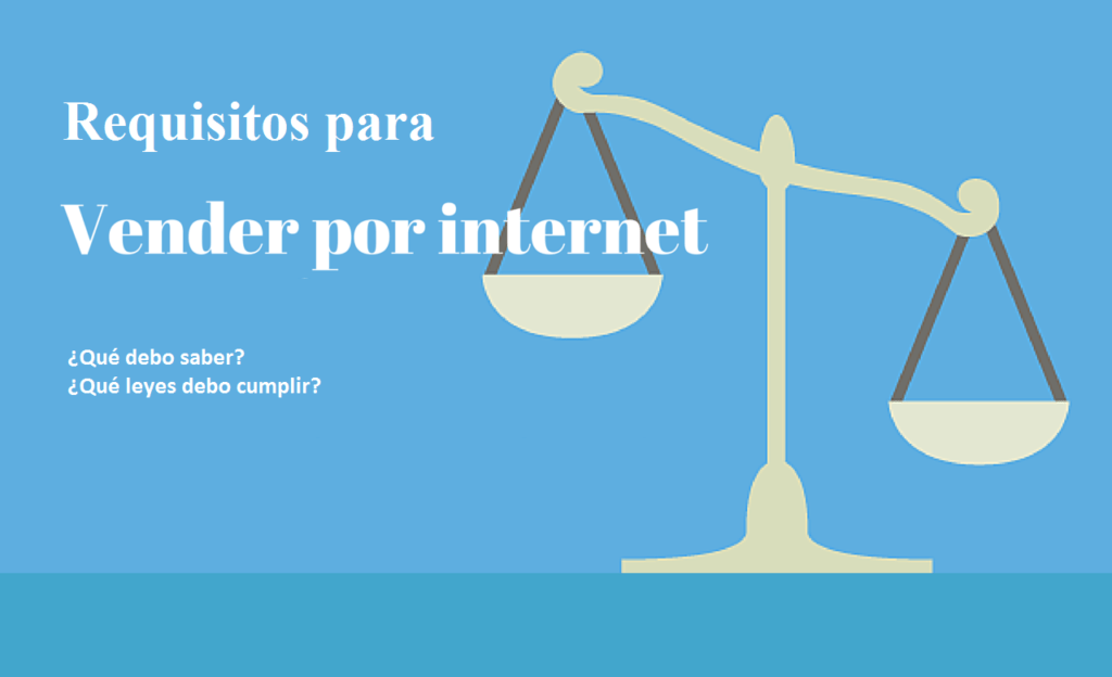 Requisitos para vender por internet